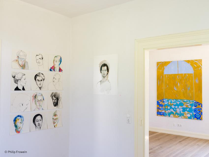Elena Zipser – Malerei